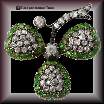 Tube bijoux St Patrick 2984
