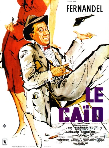 LE CAID -  FERNANDEL BOX OFFICE 1960
