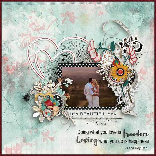 Follow Your Heart by dentelle scrap