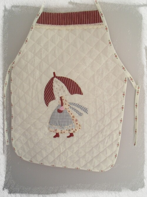 tablier patchwork sunbonnet