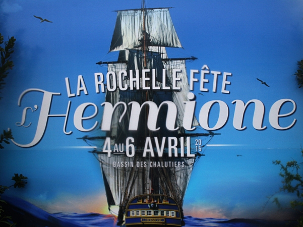 La Rochelle fête l'Hermione