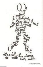image trouvée sur pinterest- calligraphie