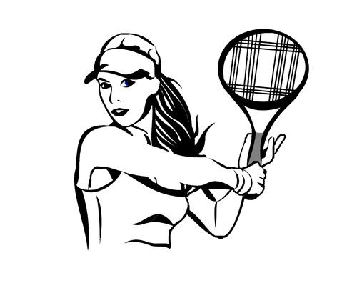 tennis et couture housse de voiture