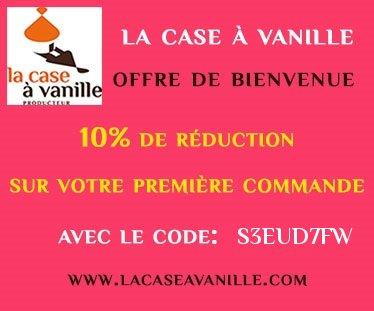 Mon nouveau partenariat gourmand : La case à Vanille