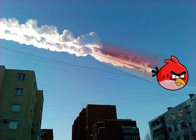 La pluie de météorites en Russie tournée en dérision par les internautes