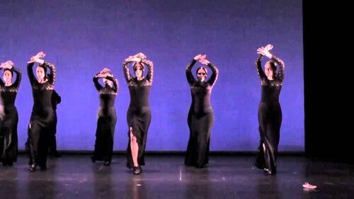 ADAGIO FLAMENCO  (Danse)