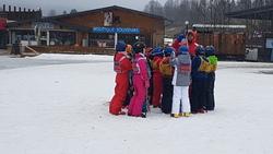 Première journée de ski à Metabief