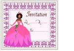 Invitations princesse et chevalier page 2