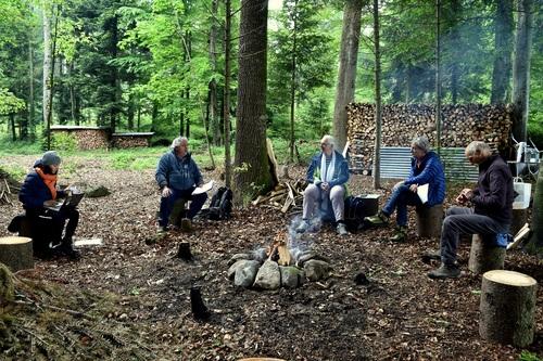 Rencontre du 16 mai dans la Forêt de Farvagny