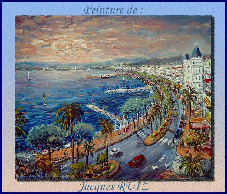 Peintures de : Jacques RUIZ