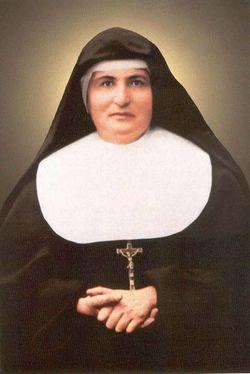 Bienheureuse Madeleine-Catherine Morano, religieuse de l'Institut des Filles de Marie Auxiliatrice († 1908)
