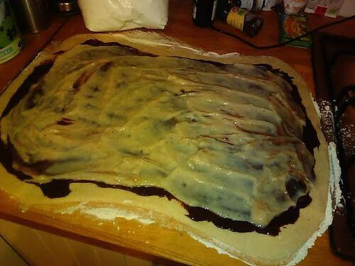 Gâteau chinois chocolat/amande {Vegan}