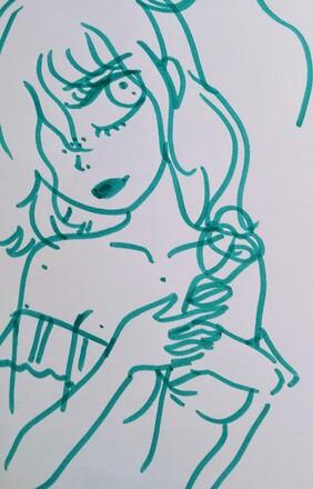 37 dessins au feutre (genderbend, ocs...)