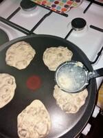 challenge alimentaire #1 janvier . galette aubergines