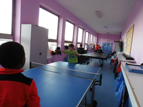Tennis de table (P5, 6)