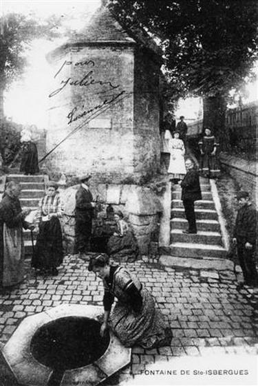 Isbergue : Fontaine Sainte Isbergue