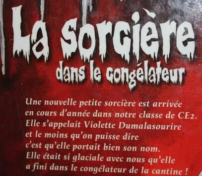 """Cadeau / """"La sorcière dans le congélateur"""""""