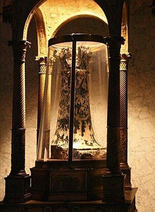 Les Saintes reliques : La colonne de flagellation