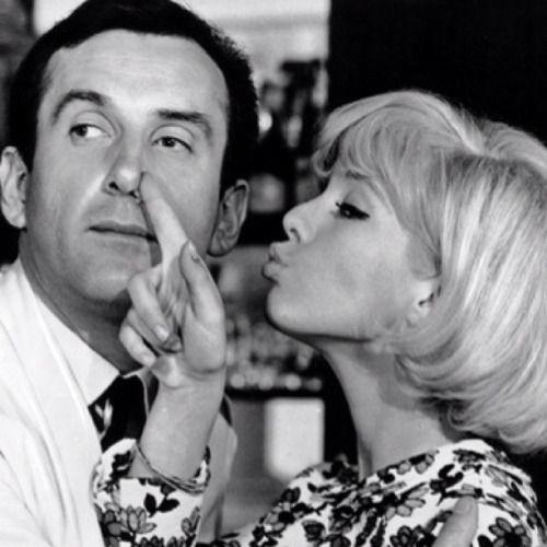 Daniel Ceccaldi et Sylvie dans le film Patate - 1964: