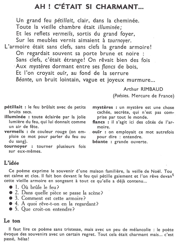 Poèmes Page 2 Littérature Au Primaire