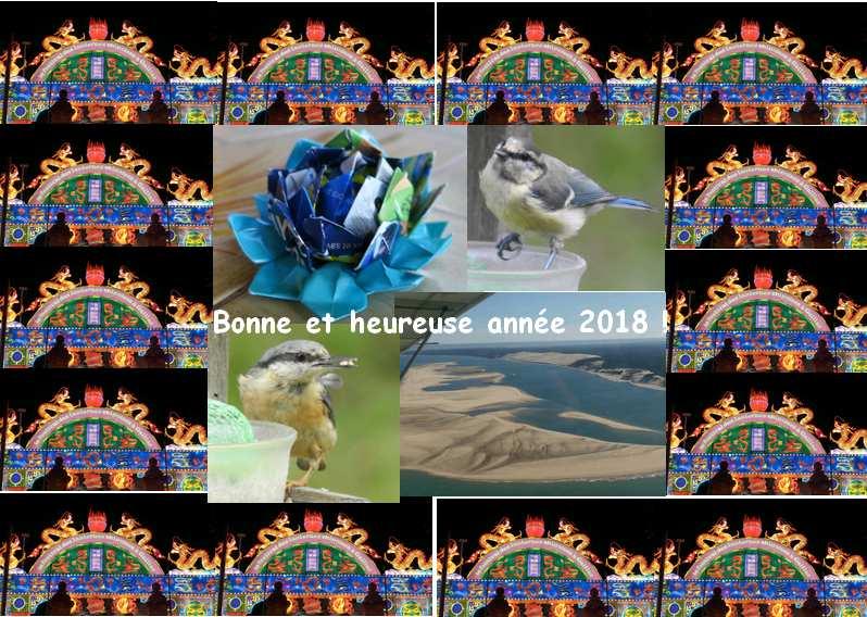 Bonne et heureuse année 2018 à vous tous !