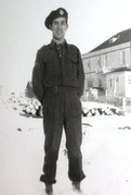 Juillet 1944 dans la plaine au-delà d'IFS