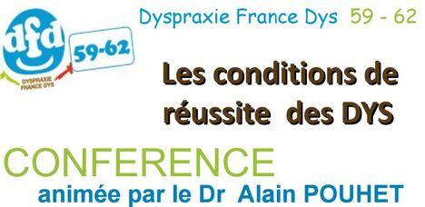 """""""Les conditions de réussite des Dys"""" : conférence du Dr Pouhet,"""