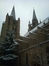 Cathédrale de Mende sous la neige