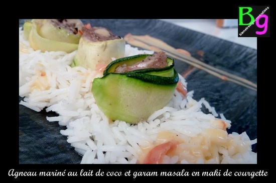 agneau coco garam masala