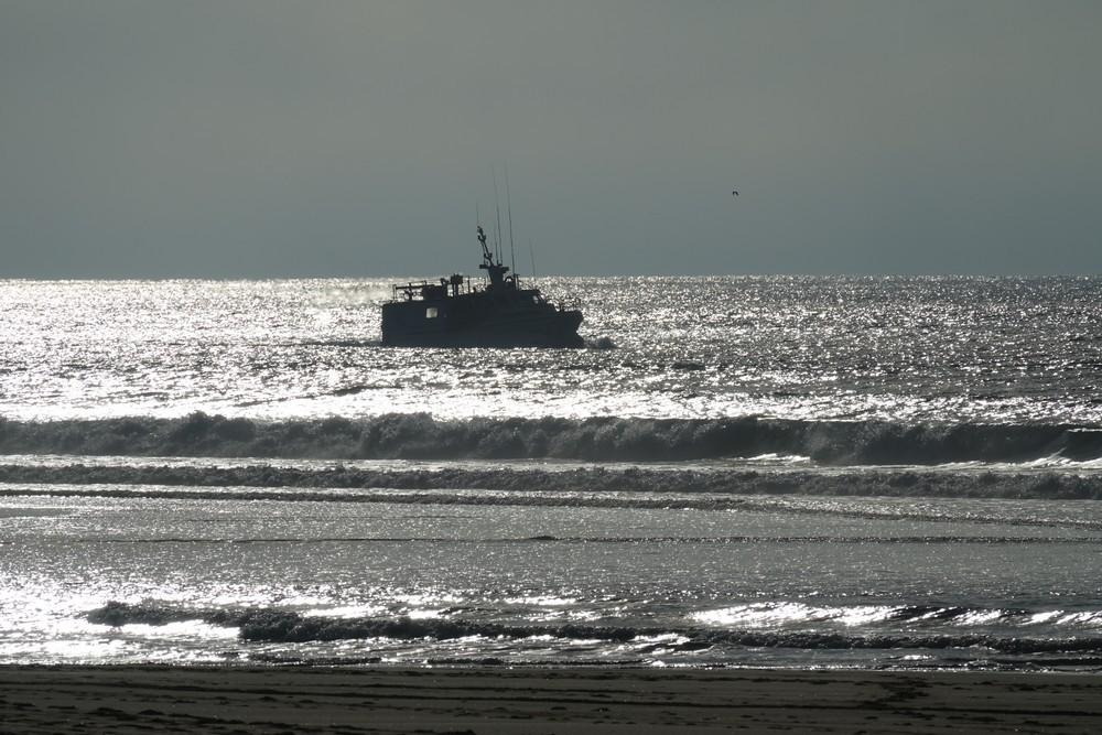 Balade d'après Noël, au bord de l'Océan (1/2)...