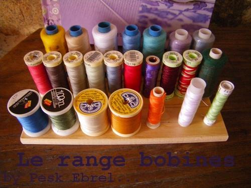 """Mon """"atelier"""" #1 : range bobines"""