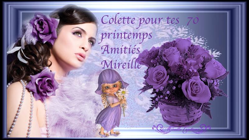 ♥ CADEAUX ANNIVERSAIRE DE MES AMIES MERCI ♥