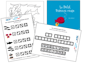 Le Petit Poisson Rouge d´Eric Battut