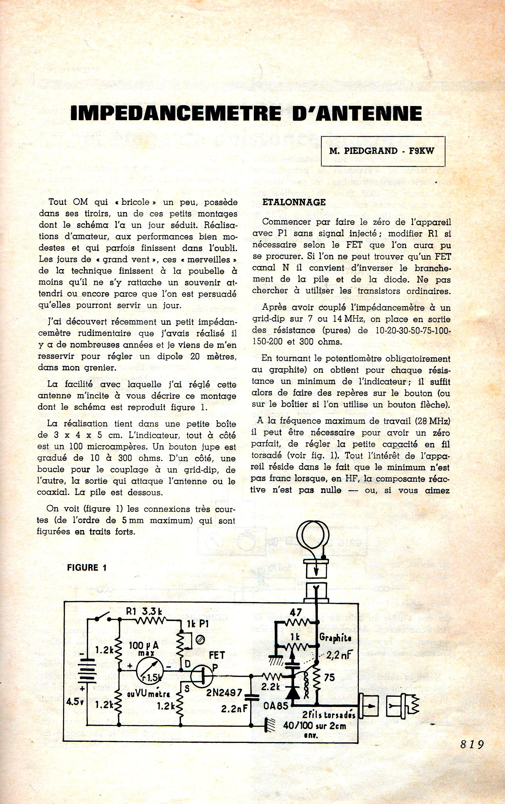 un dip u00f4le filaire performant pour le 14 mhz par patrick