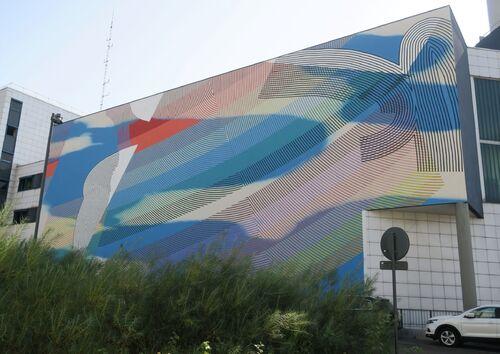 Parcours urbain ADN (Art Dans Nancy) et ses œuvres Street Art