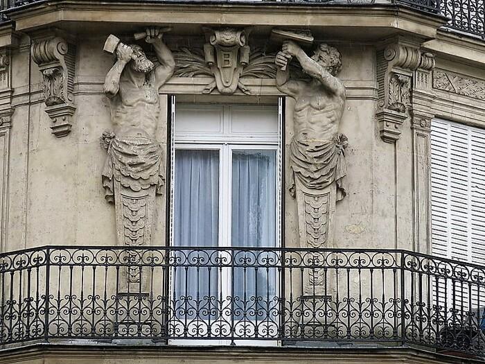 Les plus belles statues de façades parisiennes