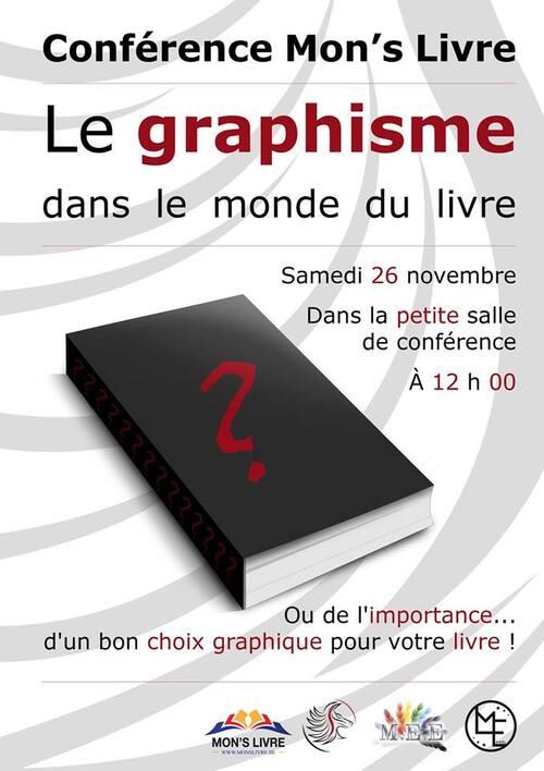 #MonsLivre2016 : Retrouvez le samedi 26 novembre Philippe Sombreval pour sa conférence sur le graphisme dans le monde du livre