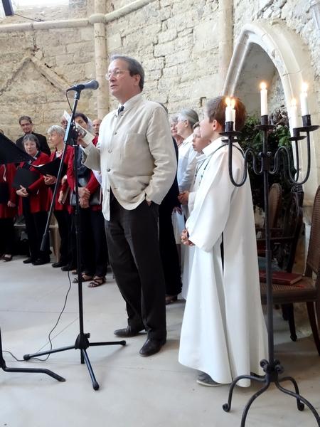 Inauguration et consécration de la chapelle templière d'Epailly