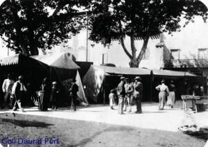 Coll P.Daurat Fort-Tuchan-Marché place des ânes