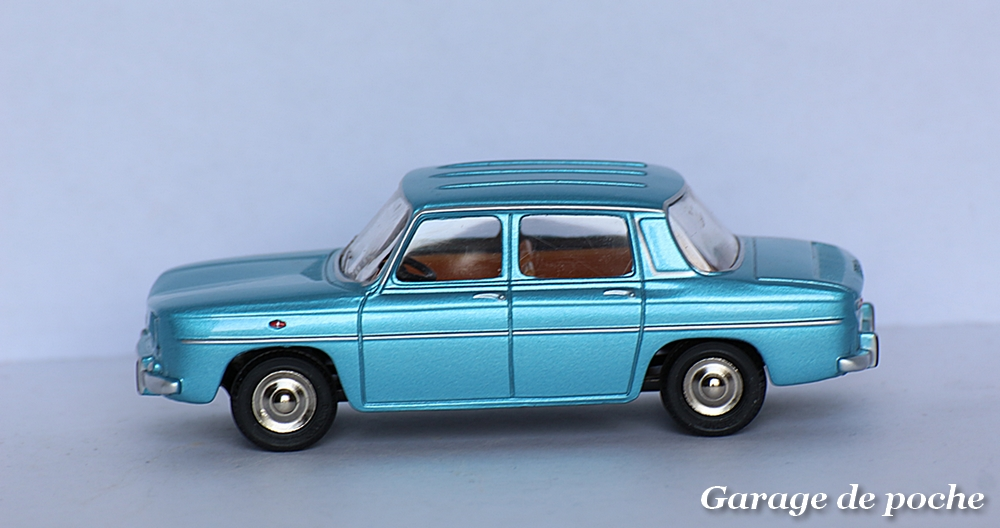 voiture miniature 1//43e NOREV CL5111 RENAULT 8 MAJOR BLEUE