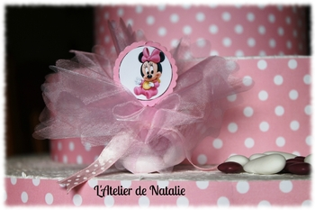 Ballotin tulle Minnie Modele blog