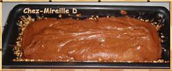 Cake Moelleux Chocolat et Nougatine