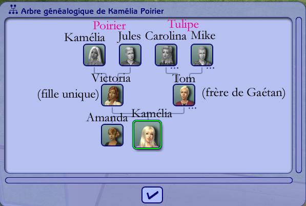 Bonus - arbres généalogiques