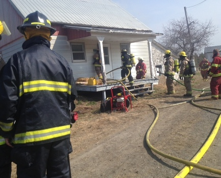 Simulation incendie à Lambton