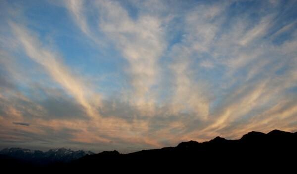 nuages du soirs
