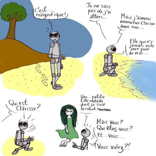 Le robot qui aimait la nature-partie 3