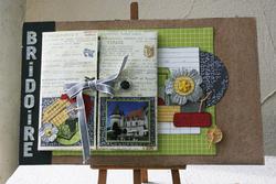 Atelier du 12 ma page sur le chateau de Bridoire