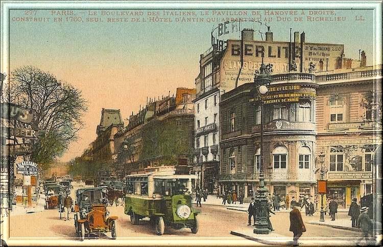 Le grand Almanach de la France : La France autrefois : PARIS