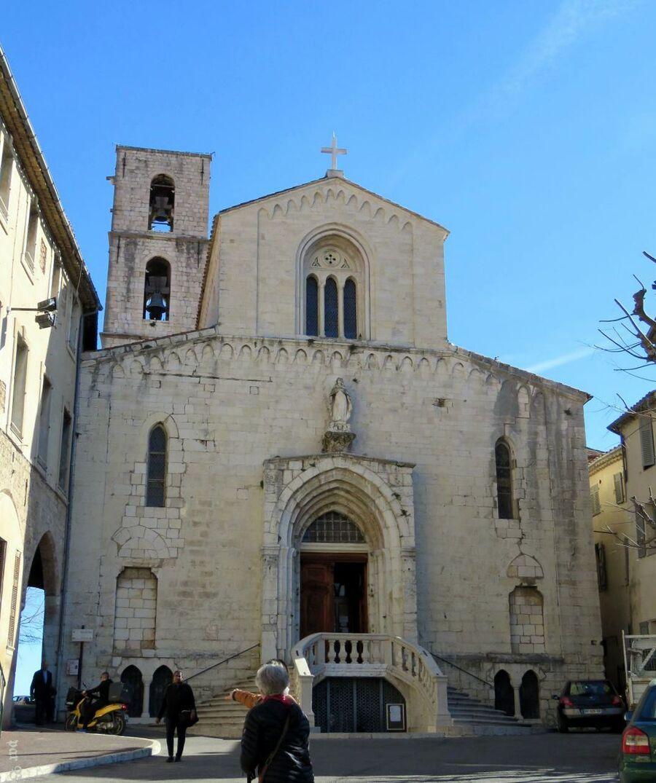 la cathédrale de Grasse ( 06 )