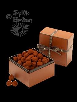 Tubes chocolats création 7